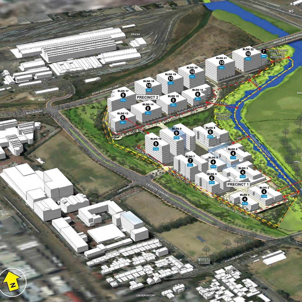 Proposed Amazon Headquarters in Cape Town